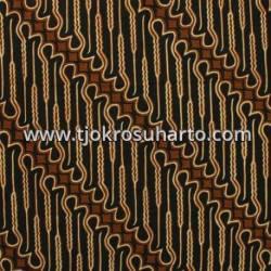 BBR 305 Batik Kombinasi Jogja Motif Genes parang curigo besar cemeng SSD