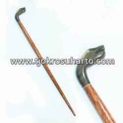 Tongkat glugu nogo lengkung 14x88 cm IHD