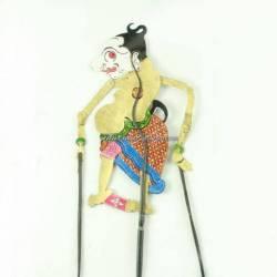 Wayang 20 cm Batik Gareng