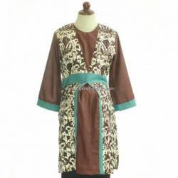 BPR 273 Gamis Lurik Batik HGG