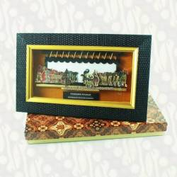 LPG 195 Pigura wayang kulit 26x16 cm Pendowo Syukur WWW