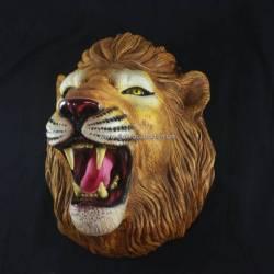 EMF 358 Patung Kepala Singa Lampu GND