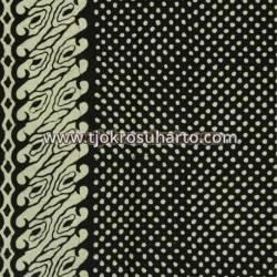BCP 651 Batik Jogja Cap Motif Gabah sinawur tumpal soco BTN