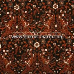 BBR 346 Batik Kombinasi Jogja Motif Boket cendrawasih cemeng 230x115 cm MRF