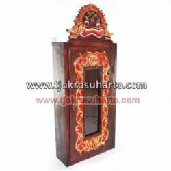 Kotak Keris Gantung Kacai Grenjengi Grenjeng lung Mangkoro 13x31x65 cm WYM