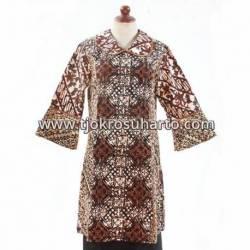 BPR 766 Dres batik cap sogan  BTN