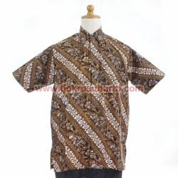 BPH 1197 Hem batik abstrak sederhana M CLE