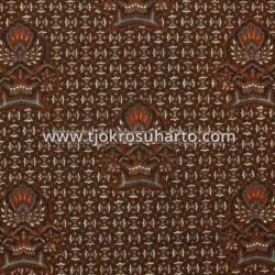 BBR 341 Batik Kombinasi Jogja Motif Slobok cemeng SMT