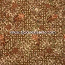 BHH 437 Bahan hem/rok Batik Printing Colet sogan parang Barong SDI