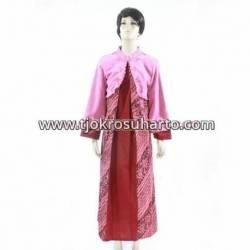 BPR 304 Gamis tenun lurik batik cap bordir HGG