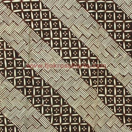 BAP 1151 Batik Jogja Tulis Motif Gedekan seling kawung SRM BTN