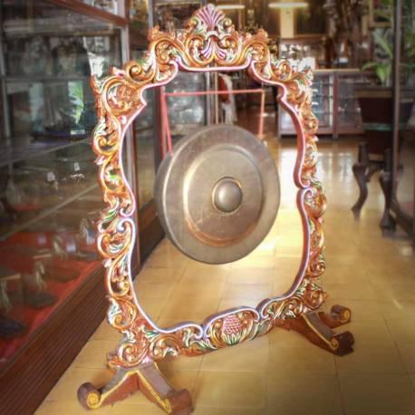 Gayor gong Bulat ukir D: 57 cm LGS 003 WYM