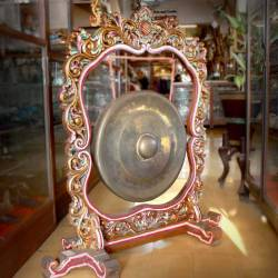 LGS 037 Gayor gong Bulat ukir Sunggig grenjeng D: 55 cm WYM