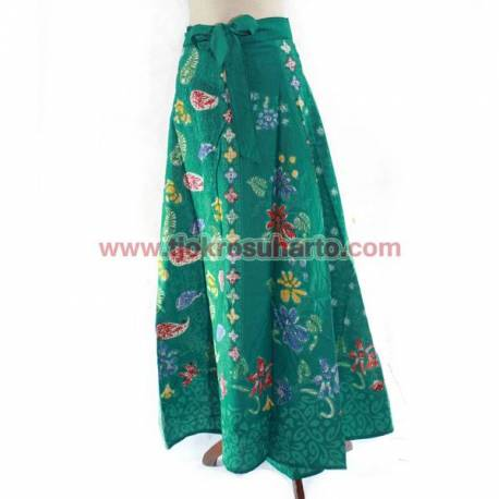 BPR 653 Rok Lilit batik panjang 100 cm sogan colet MRK (5)