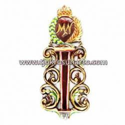 CTP 064 Tempat Keris Dinding Grenjeng Tanggung Nogo Mangkunegoro WYM CTP 251