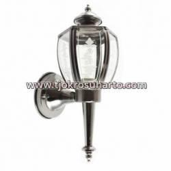 GCC 360 Lampu Andong kaca Bulat crom t39xp21xL17 cm (RCC) HMD