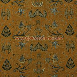 BBR 145 Batik Kombinasi Jogja Motif Wahyu tumurun kepyur granit coklat SMT