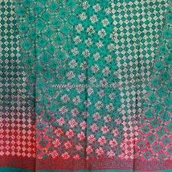 BHH 361 Bahan Hem Katun embosh kombinasi warna degradasi 180x100 cm CLE
