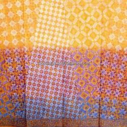 BHH 364 Bahan Hem Katun embosh kombinasi warna degradasi 180x100 cm CLE