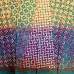 BHH 365 Bahan Hem Katun embosh kombinasi warna degradasi 180x100 cm CLE