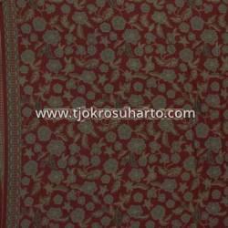 BHH 622 Bahan hem/rok warna lawasan Merah Hati 220x100 cm HSN 12