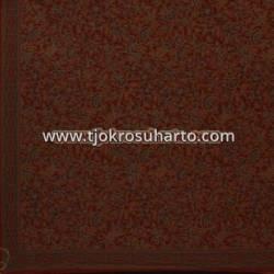 BHH 626 Bahan hem/rok warna lawasan Coklat 220x100 cm HSN 13