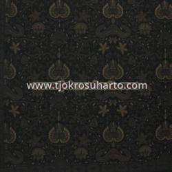 BHH 630 Bahan hem/rok warna lawasan Hitam 220x100 cm HSN 14 B