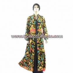BPR 363 Gamis katun batik printing DWS
