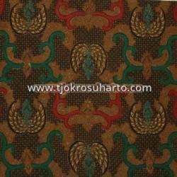 Bahan hem/rok batik kombinasi genes katun colet Truntum buntal 240x100 cm EST