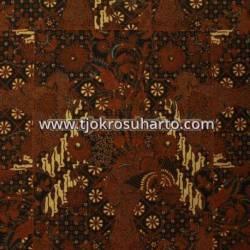 BHH 121 Bahan Hem Pola batik Kombinasi tulis sogan EST