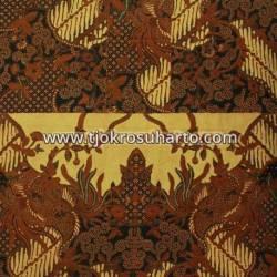 BHH 122 Bahan Hem Pola batik Kombinasi tulis sogan EST