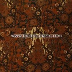 BHH 133 Bahan Hem Pola batik Kombinasi tulis sogan EST