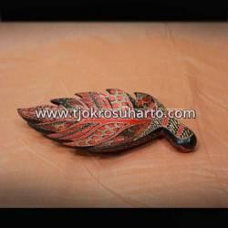 LBA 039 Piring daun Batik S ZNL
