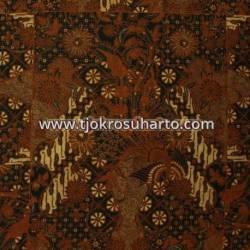 BHH 052 Bahan Hem Pola batik Kombinasi tulis sogan EST