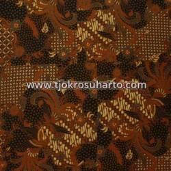BHH 046 Bahan Hem Pola batik Kombinasi tulis sogan EST