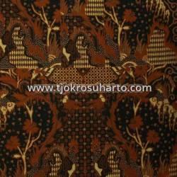 BHH 013 Bahan Hem Pola batik Kombinasi tulis sogan EST