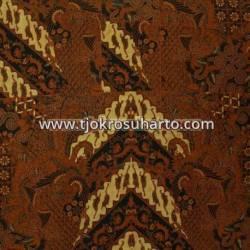 BHH 142 Bahan Hem Pola batik Kombinasi tulis sogan EST