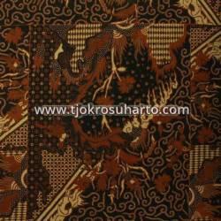 BHH 115 Bahan Hem Pola batik Kombinasi tulis sogan EST