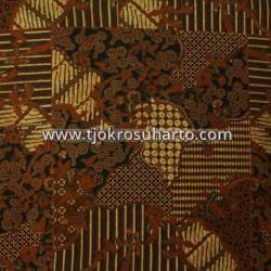 BHH 113 Bahan Hem Pola batik Kombinasi tulis sogan EST