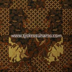 BHH 097 Bahan Hem Pola batik Kombinasi tulis sogan EST