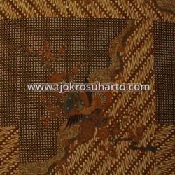 BHH 080 Bahan Hem Pola batik Kombinasi tulis sogan EST