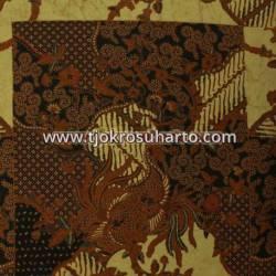 BHH 078 Bahan Hem Pola batik Kombinasi tulis sogan EST