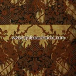 BHH 070 Bahan Hem Pola batik Kombinasi tulis sogan EST