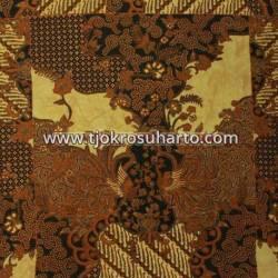 BHH 065 Bahan Hem Pola batik Kombinasi tulis sogan EST