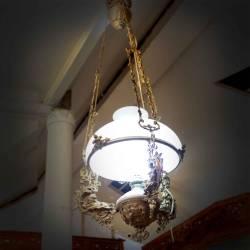 GCC 301 Lampu Gantung Kerek antik 40 cm