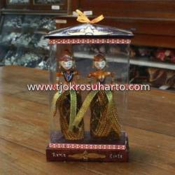LCP 335 Wayang golek Rama Sinta sepasang Box