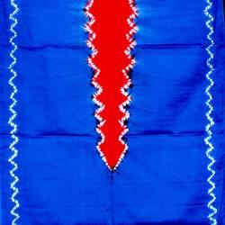 DKJ 158 Kemben Tritik Jumputan Biru Tengahan merah MYT
