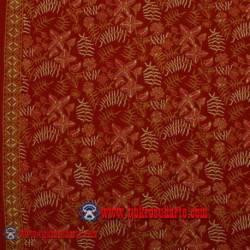 BHH 829 Bahan Hem/rok Kombinasi cap tulis Parijoto merah SPR