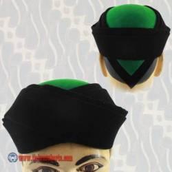 Kuluk Santri hitam hijau 6