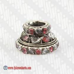 Robyong Perak 925 yakut batu merah 11,4 gr AJS